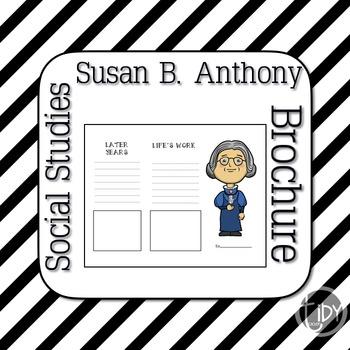 Susan B Anthony Brochure