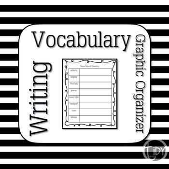 Susan B Anthony Vocabulary