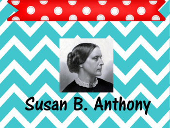 Susan B. Anthony Vocabulary