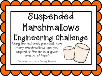 Suspended Marshmallows: Engineering Challenge Project ~ Gr