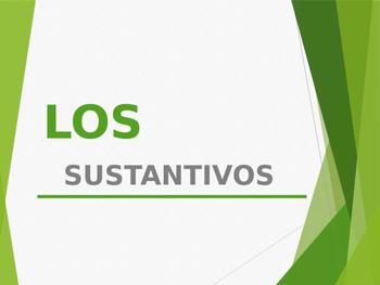Sustantivos / Nouns in spanish