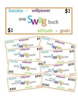 Swag Bucks - Classroom Incentives