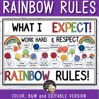 Swag Expectations - Classroom Rules for Teens