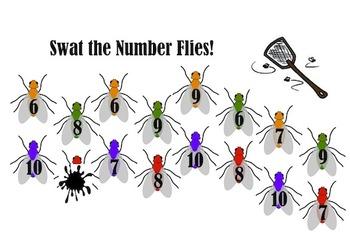 Swat the Flies Numbers 6-10