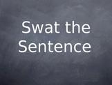 """Swat the Sentence"" Grammar Game PowerPoint"