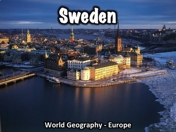 Sweden Geography, History, Government, Economy, and Cultur