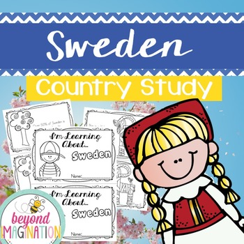 Sweden Country Study | 48 Pages for Differentiated Learnin