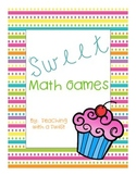 Sweet 1st Grade Math Games {for all year!}