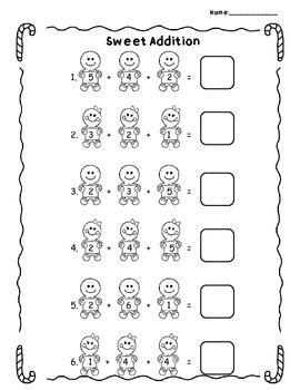 Sweet Addition - Christmas Math