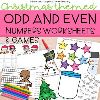 Sweet Christmas Odd Numbers