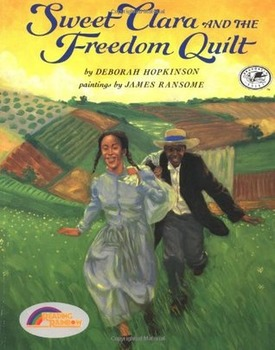 Sweet Clara and the Freedom Quilt: motivation, vocabauthor