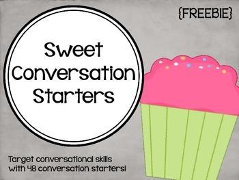Sweet Conversation Starters {FREEBIE}