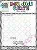Sweet Doodle Stackers: Digital Border Graphics to Mix, Mat