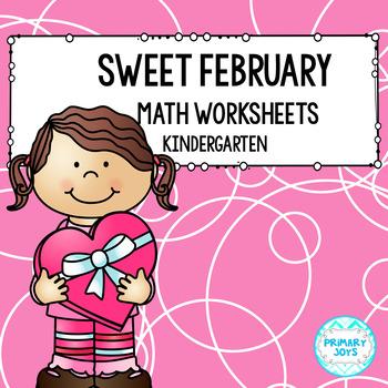 Kindergarten Math Worksheets - February