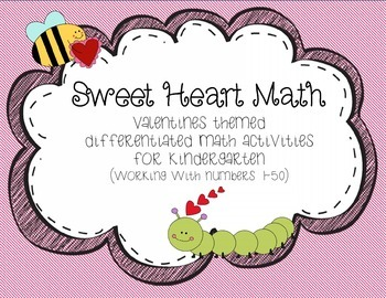 Sweet Heart Kindergarten Math
