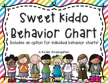 Sweet Kiddo Behavior Clip Chart
