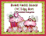 Sweet Medial Sounds-CVC I-Spy Sort-Aligned to CCSS