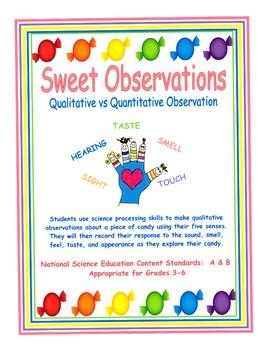 Sweet Observations - Qualitative vs.... by Barbara J | Teachers ...