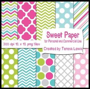 Sweet Paper Pack