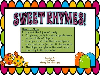 Sweet Rhymes Game