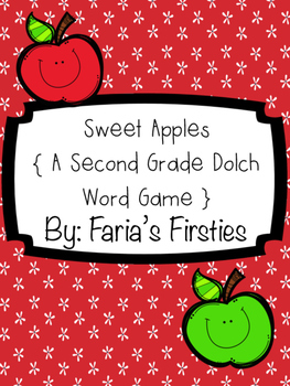 Sweet Second Grade Dolch Apples { A Second Grade Dolch Wor
