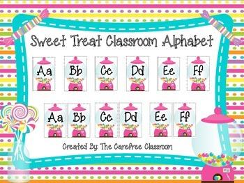 Sweet Treat Alphabet Line
