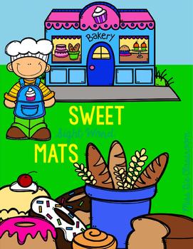 Sweet Sight Word Mats: Primer Edition