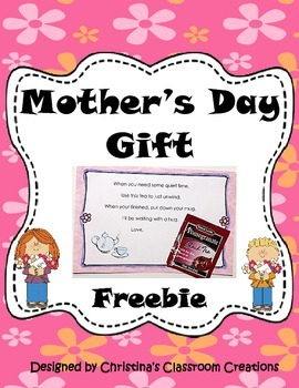 Mother's Day Gift Freebie