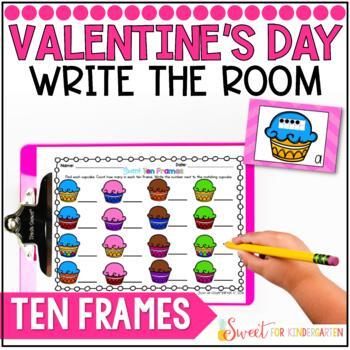 Sweet! Ten Frames- Write the Room