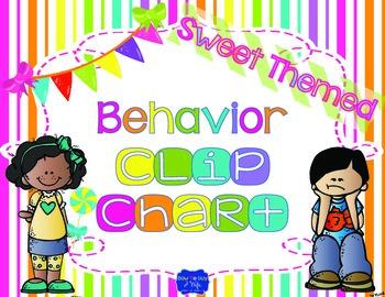 Sweet Theme Behavior Clip Chart