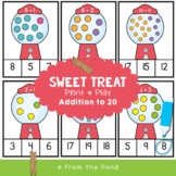 Sweet Treat - Math Game / Center for Addition