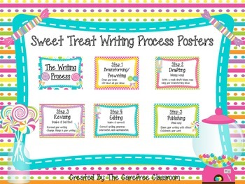 Sweet Treat Writing Process Posters