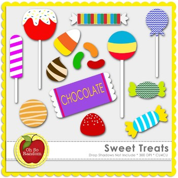 Sweet Treats {Graphics for Commercial Use}