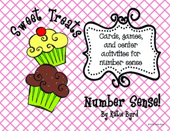 Sweet Treats Number Sense - Hands ON Math Centers for Common Core