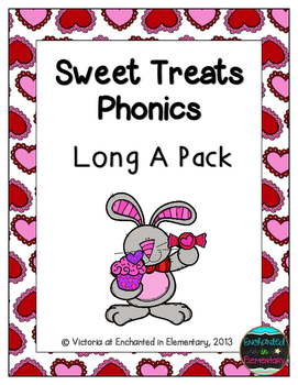 Sweet Treats Phonics: Long A Pack
