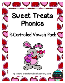 Sweet Treats Phonics: R-Controlled Vowel Words Pack