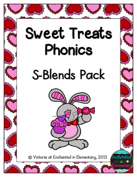 Sweet Treats Phonics: S-Blends Pack