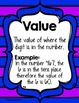 Sweet Treats: Place Value Understanding Place, Value and Digit