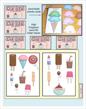 Sweet Treats Summer Multi Activity Package based on Common Core