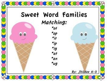 Sweet Word Families