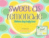 Sweet as Lemonade: Mother's Day Crafty Card