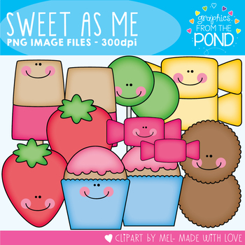 Sweet as Me - Clipart for Teachers and Classrooms