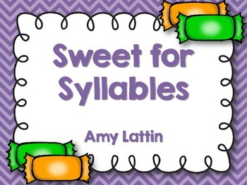 Sweet for Syllables