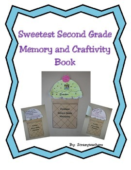 Sweetest Second Grade Memory and Craftivity Book