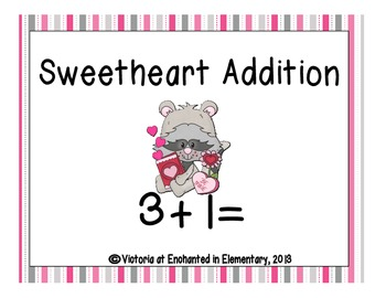 Sweetheart Addition! Addition Facts Practice