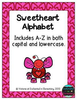 Sweetheart Alphabet! Letter and Sound Recognition Game