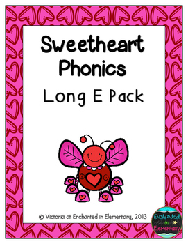 Sweetheart Phonics: Long E Pack