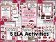 Valentine Math & ELA Centers, Games, & Fun! {12 Activities