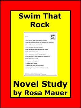 Swim That Rock Jr. High Book Study Reading Comprehension