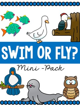 Swim or Fly: Science Mini-Pack!